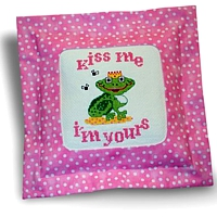 He Frog, kiss me I'm yours