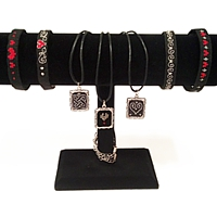 Order 12ea pendant and bracelet kits and get free models with display