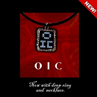 OIC Pendant Necklace Kit counted cross stitch